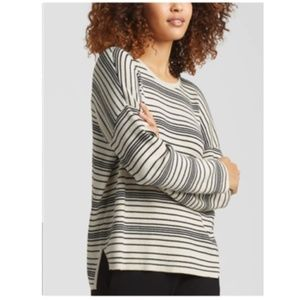 EILEEN FISHER Organic Cotton Box-Top Sweater XL